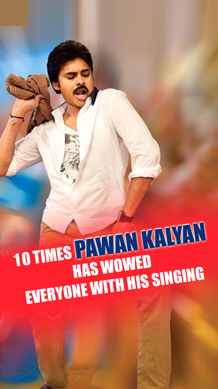 Open 10 Times Pawan Kalyan Has Wowed Everyone With His Singing story