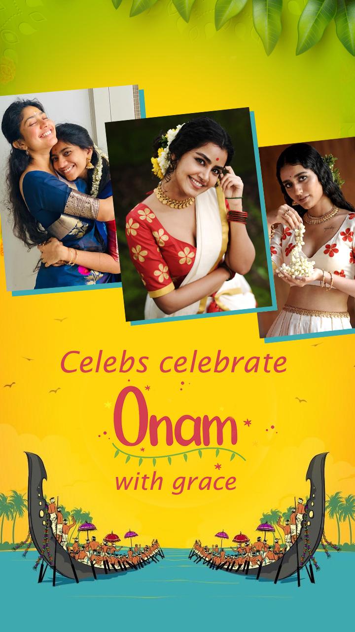 Open Celebs celebrate Onam with grace story