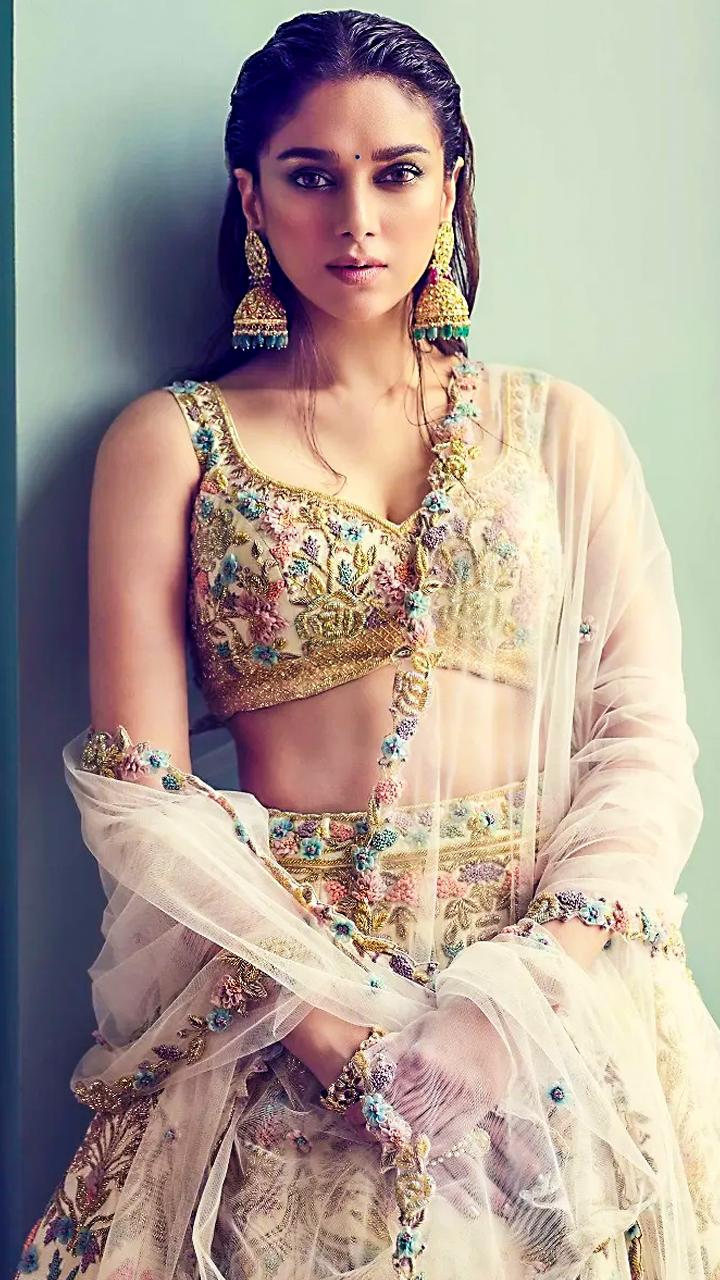 Gorgeous Lehengas to steal from Aditi Rao Hydari