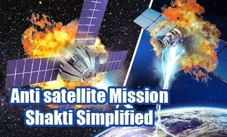 Anti satellite Mission Shakti Simplified