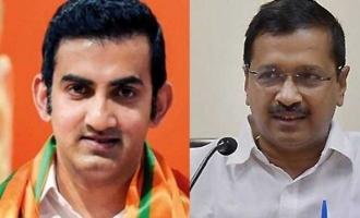 Gambhir challenges Kejriwal to prove letter