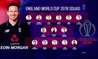 Sneak peek into England's World Cup Team