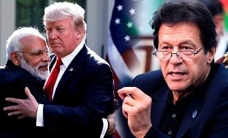 Surprised by reaction of India to Trump's offer of mediation: Imran Khan