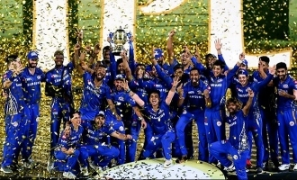Fourth title and second one -run win in a final for MI