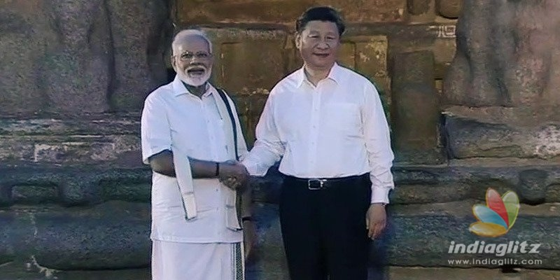 Modi wears a veshti to impress Tamilians