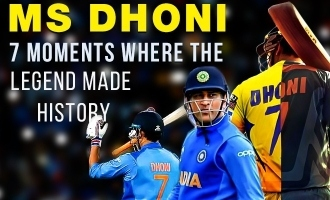 Mahendra Singh Dhoni: 7 Moments Where the Legend Made History