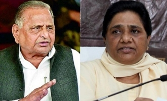 Bitter rivals Mulayam, Mayawati to address joint rally