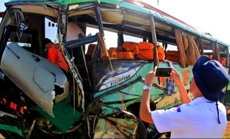Passenger Argues with Driver, Bus Crashes Killing 12