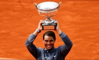 12th French Open Title for King of Clay Rafael Nadal