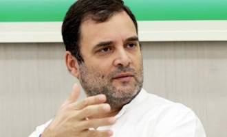 Rahul Gandhi enjoys a meal after getting bail