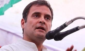 Be alert & don't be scared: Rahul Gandhi