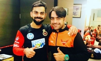 Rashid Khan's Bat Gifted by Virat Kohli, Stolen by Teammate