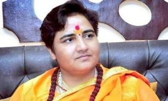 Cow urine, gobar cured my cancer: Sadhvi Pragya