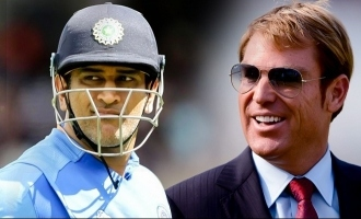 Shane Warne on Dhoni's Retirement