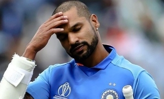 Shikhar Dhawan ruled out of World Cup 2019, Pant named replacement