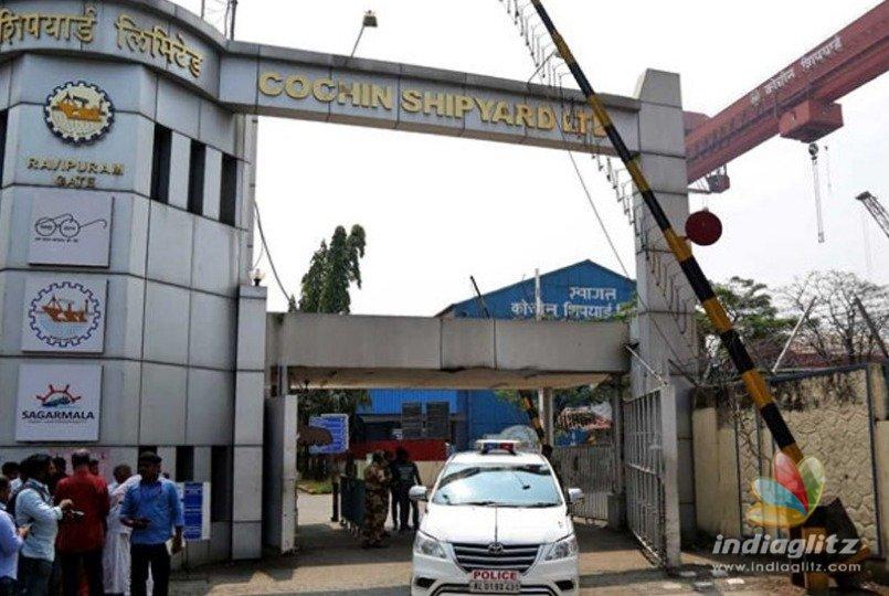 Blast causes fire at Cochin Shipyard killing 5 persons