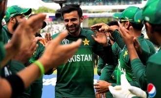 Guard of Honour for Shoaib Malik as he Retires from ODIs