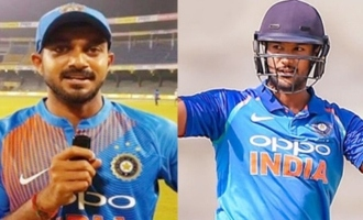 Vijay Shankar goes out, Mayank Agarwal comes in