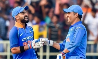 Video Shows it All, Dhoni and Kohli : The Love, Respect, and Admiration