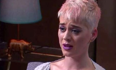 Pop Sensation Katy Perry Breaks Down