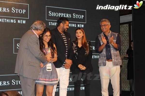 Aditi Rao Hydari & Kunal Kapoor at Shoppers Stop Select Designer of The Year 2017