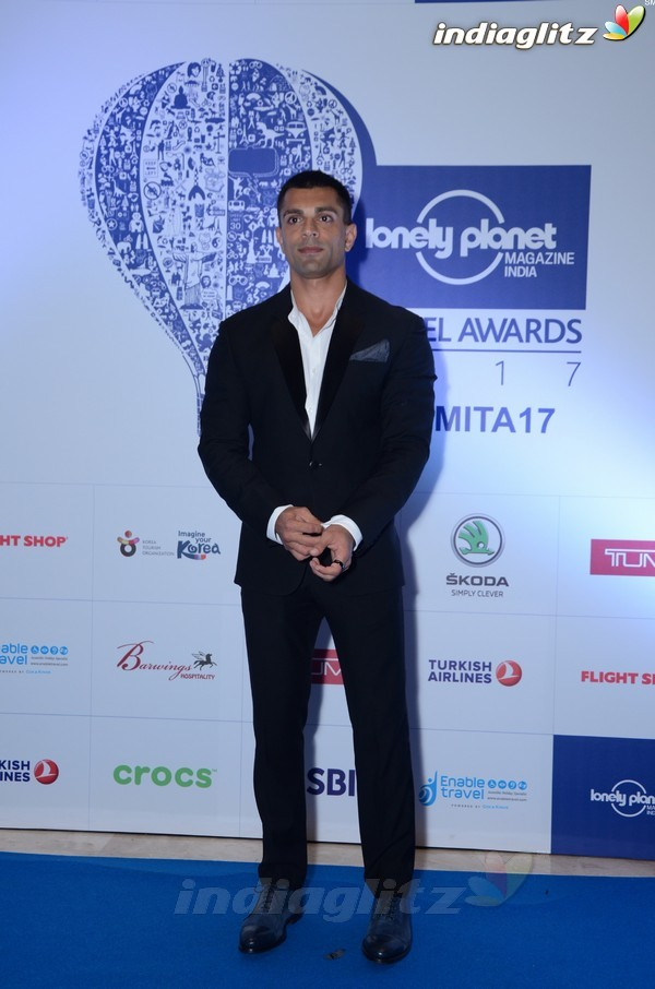 Arjun Kapoor, Diana Penty at Lonely Planet Awards 2017