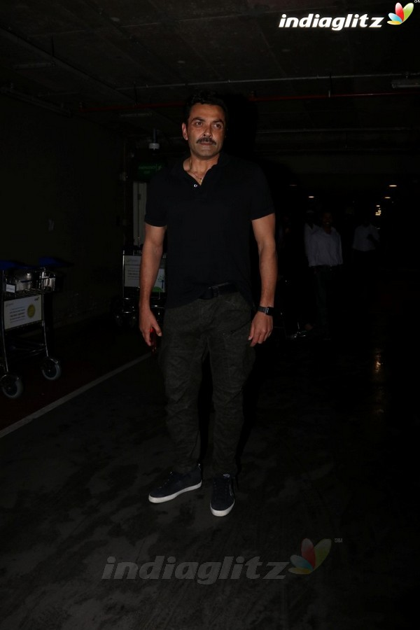 Bobby Deol Spotted at Airport