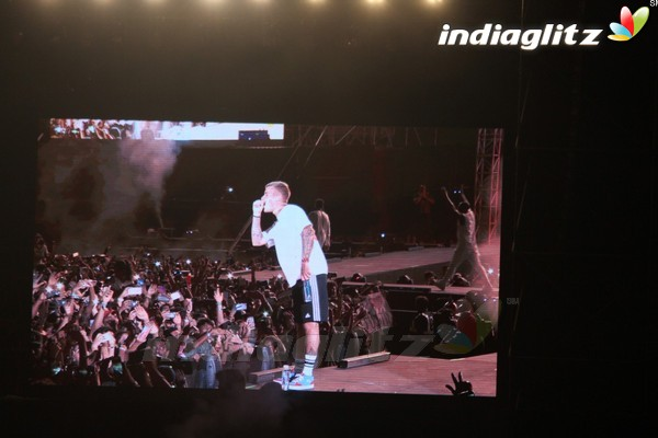 Justin Bieber Purpose World Tour Concert