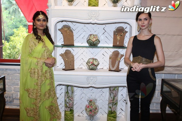 Karan Johar & Neha Dhupia at Launch of Tyaani Flagship Polki Jewellery Store
