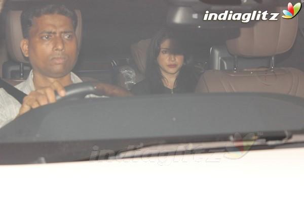 Malaika Arora, Karisma & Kareena Spotted at Karan Johar's House