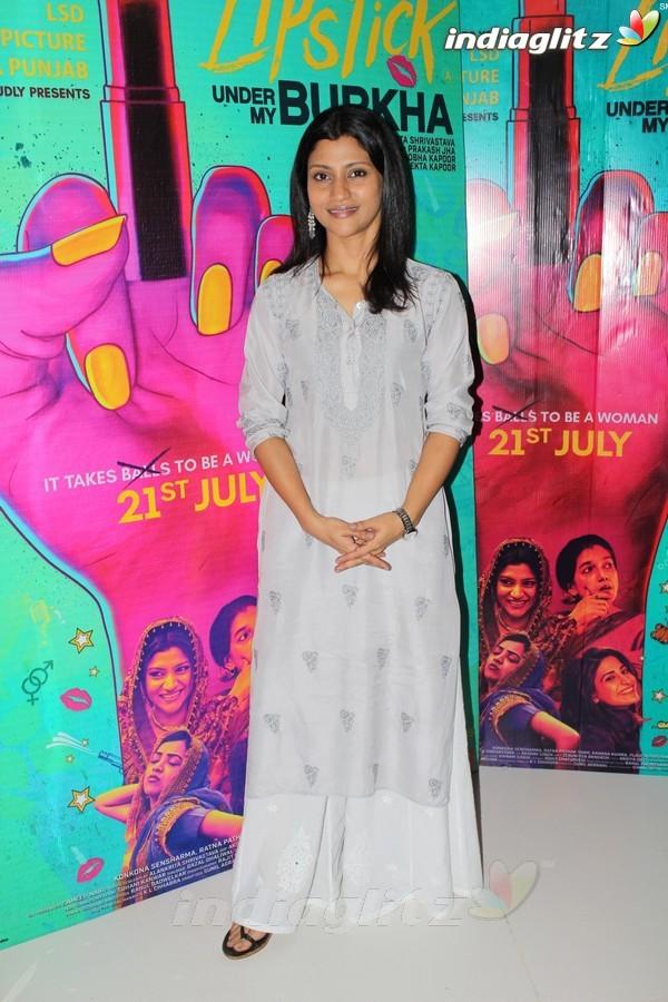 Konkona Sen Sharma & Alankrita Shrivastava Promote 'Lipstick Under My Burkha'