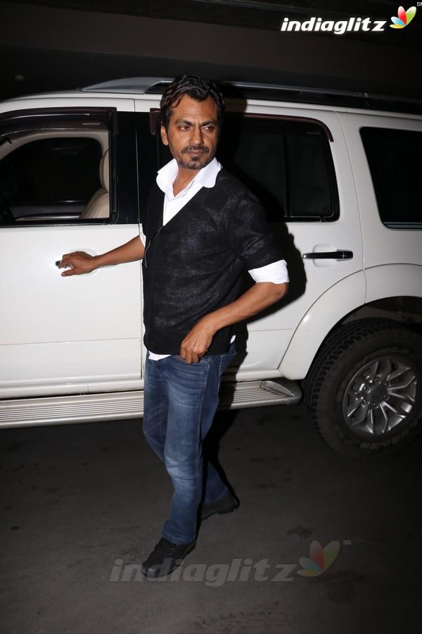 Nawazuddin Siddiqui Spotted at Airport