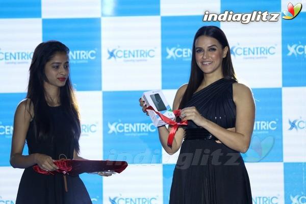 Neha Dhupia Launches Centric Smartphones New Range