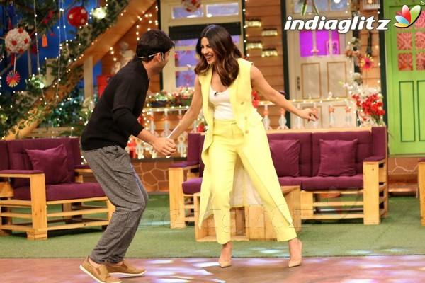 Priyanka Chopra Promotes 'Sarvann' on The Kapil Sharma Show
