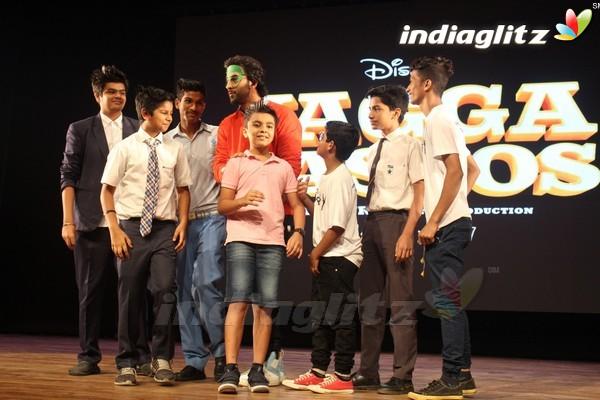 Ranbir Kapoor Interacts With School Children For 'Jagga Jasoos' in Mumbai