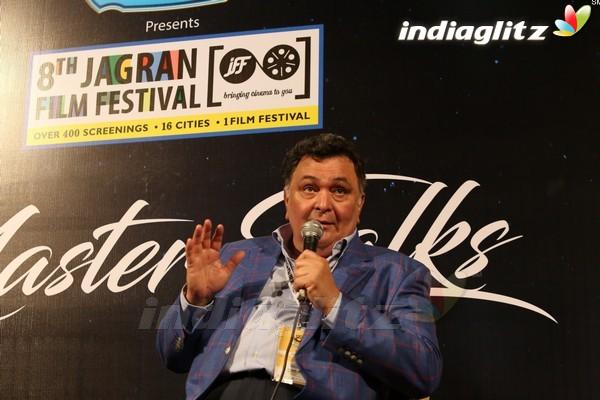 Rishi Kapoor, Divya Dutta at 8th Jagran Film Festival Opening