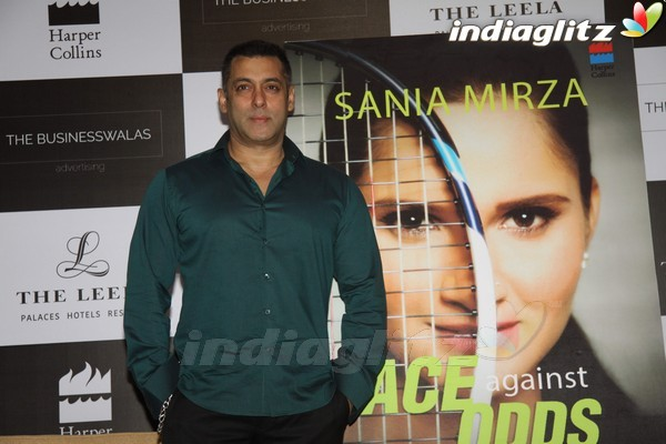 EventsSalman Khan Launches Sania Mirza's Book 'Ace Against Odds'