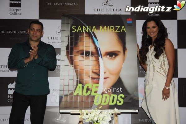 Events - Salman Khan Launches Sania Mirza's Book 'Ace Against Odds