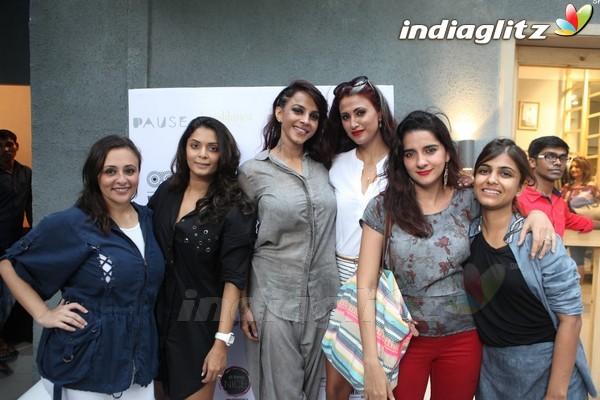Sarah Jane Dias, Pooja Bedi at PAUSE Flagship Store Launch