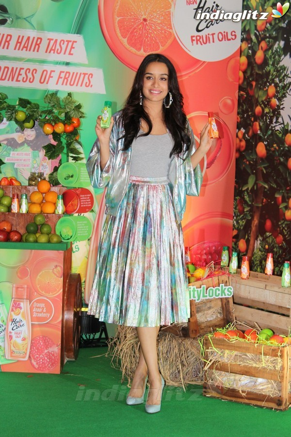 Shraddha Kapoor at Magical Secret of Fruit Extracts Launch