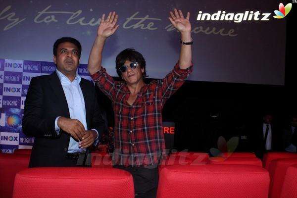 Shah Rukh Khan Inaugurates New INOX Theatre in Mumbai