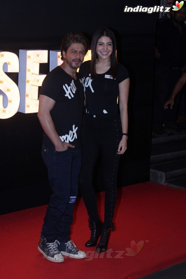 Shah Rukh Khan & Anushka Sharma at 'Beech Beech Mein' Song Launch from 'Jab Harry Met Sejal'