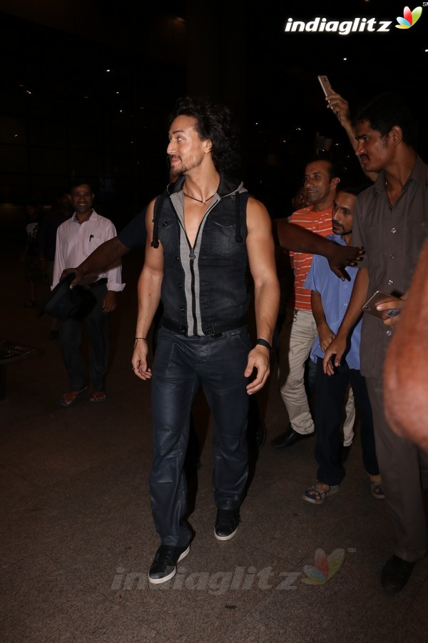 Tiger Shroff Spotted at Airport