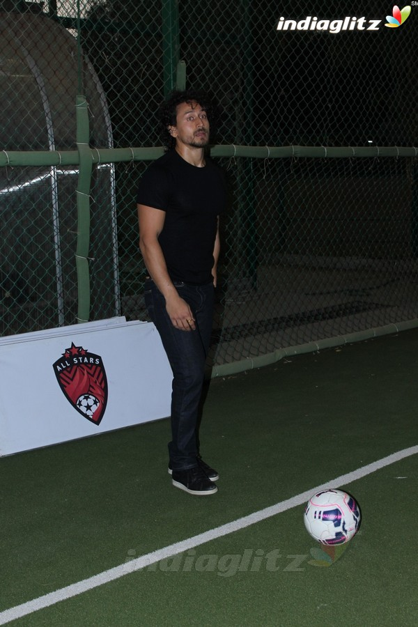 Tiger Shroff & Adah Sharma at Launch of Second Edition of Super Soccer Tournament