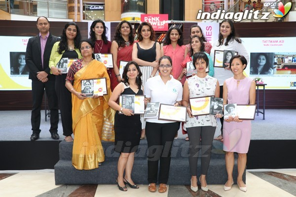 Tisca Chopra Felicitate Winners of Pink Power