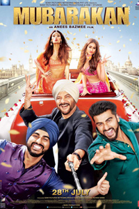 Watch Mubarakan trailer