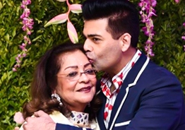 Inside Pics & Videos from Karan Johar's Mom Hiroo's Birthday Celebration!