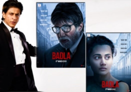 Shah Rukh Khan Shares The First Posters Of Amitabh Bachchan And Taapsee Pannu's 'Badla'