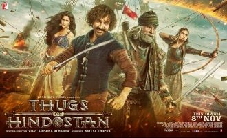 The Thugs Are Here In This New MuchAwaited Poster Of Thugs of Hindostan