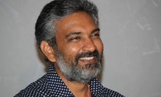 S.S. Rajamouli shared an interesting update about his film 'RRR'.
